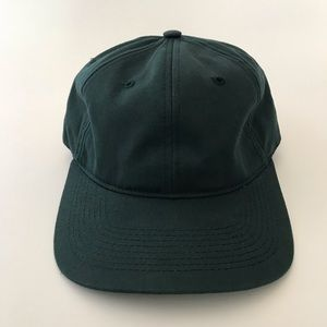 Other - Green fitted hat